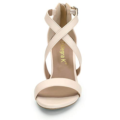 Dress K Nude Women Sandals Crisscross Allegra Straps Inqd1wgxpn