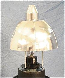 (Dark Sky Lamp Post Globe Reflectors with Mogul Base Sockets)