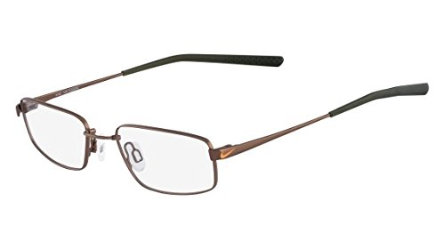 NIKE Eyeglasses 4632 245 Walnut Dark Army Green 45MM