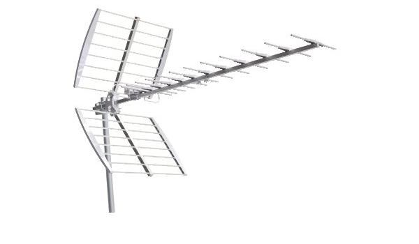 GBC Cod. 58.1500.65- Antena exterior Yagi UHF banda IV/V 14 ...