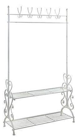 Mueble Perchero Recibidor Metal 180x98 cm: Amazon.es: Hogar