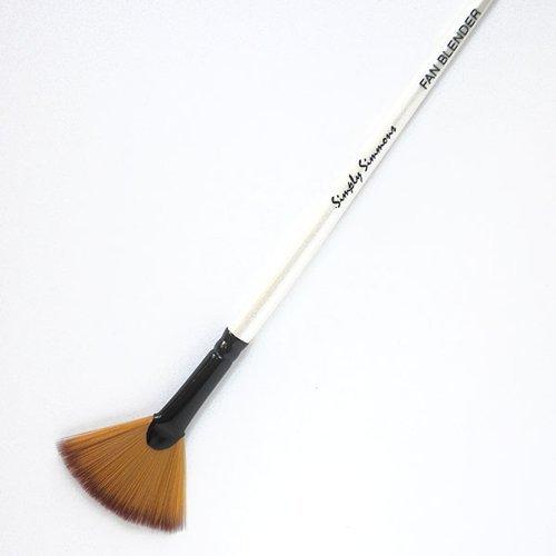 Daler-Rowney Simply Simmons Synthetic Acrylic/Multimedia Brush Fan Blender 1 DALER-ROWNEY/FILA CO 4336955916