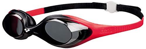 Arena 92338-red-smoke-black Spider Jr. anteojos de natación