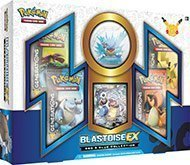 Collection Anniversary 20th - Pokemon RED & BLUE Collection Blastoise EX Box with (4) GENERATIONS Booster Packs - 20th Anniversary Limited Edition Set