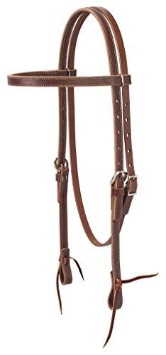 Weaver Leather Latigo Leather Browband Headstall
