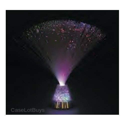 1 X Fiber Optic ~ Crystal Ice ~ Party Light Nightlight Lamp OTC