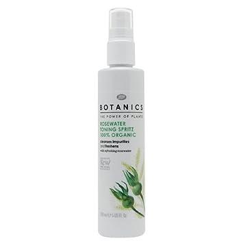 Superb BOOTS Botanics Organic Rosewater Toning Spritz 5 US Fl. Oz