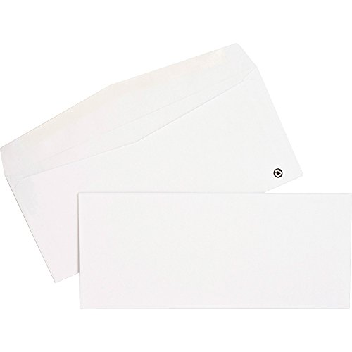 Nature Saver Recycled Envelope - Business - #10 (9.50quot; x 4.13quot;) - 24 lb - Gummed - 500/Box - ()