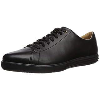 Cole Haan Men's Grand Crosscourt II Sneaker, black leather/black, 8 Medium US