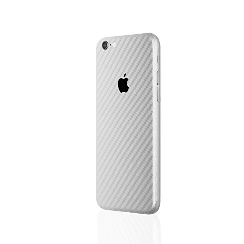 AppSkins Rückseite iPhone 6s Full Cover - Carbon silver