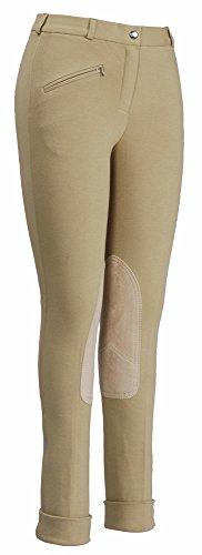 Cotton Riding Breeches - TuffRider Women's Cotton Jods, Light Tan, 26