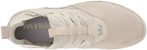 Supra Unisex Adults' Titanium Skate Shoe, Black Black Off White-off White