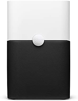 Blueair 211+ Air Purifier 3 Stage with Two Washable Pre, Particle, Carbon Filter, Captures Allergens, Odors, Smoke, Mold, Dust, Germs, Pets, Smokers, Large Room, Blue