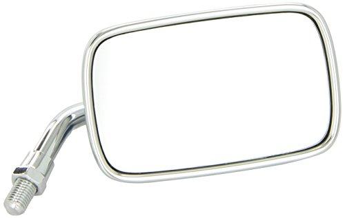 Ken Sean 941090 Chrome Universal Mini Rectangle Mirror