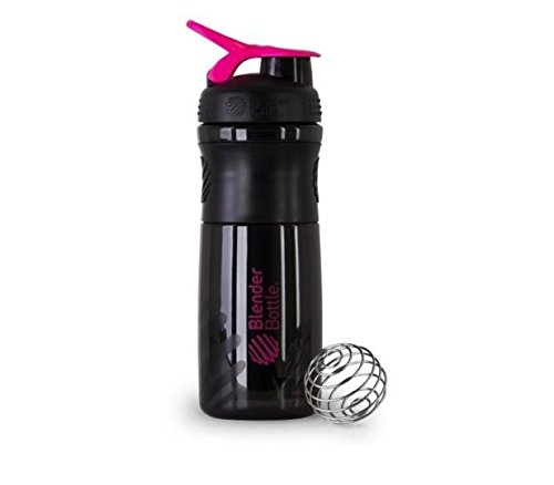 black pink blender bottle - 5
