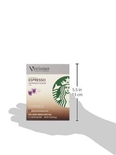 Starbucks® Espresso Roast VerismoTM Pods,12-0.28 oz