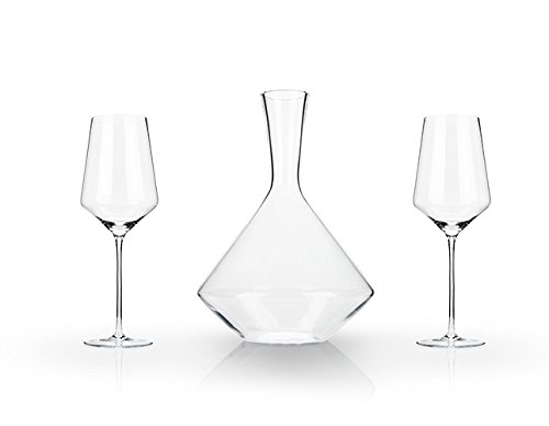 Crystal Wine Glasses, Elegant Unique Modern Decanter Wine Glass Sets (set Of - Carafe Grapevine