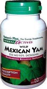 Дикий Мексиканский Ям Выдержка Плюс 60 капсул по 250 мг Природы