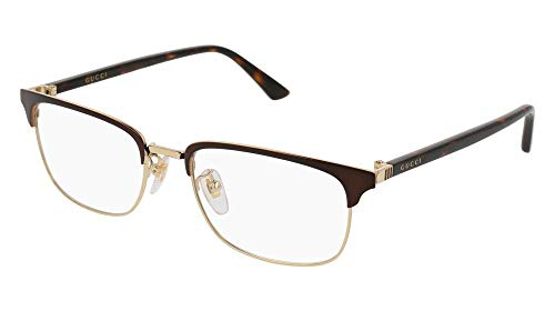 Eyeglasses Gucci GG 0131 O- 002 BROWN / AVANA