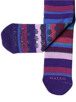 ultima moda nuova collezione sulle immagini di piedi di Gallo Calza Donna Antiscivolo Porpora U: Amazon.it: Sport e tempo ...