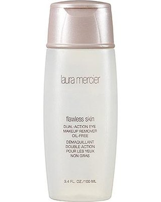 Makeup Action Remover Dual (LAURA MERCIER flawless skin dual action eye makeup remover oil free)
