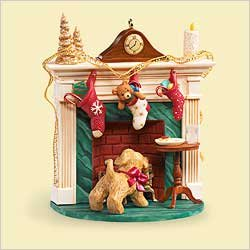 QXG2806 A Puppy for Christmas 2006 Hallmark Keepsake Ornament ()