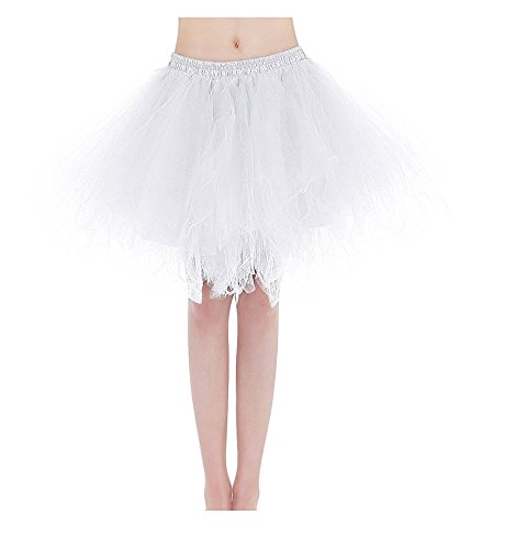 Bridal_Mall - Falda - enaguas - para mujer blanco