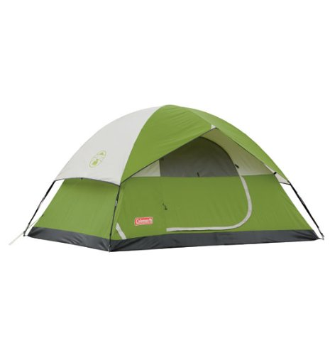 Coleman Sundome 4-Person Tent, Green, Outdoor Stuffs