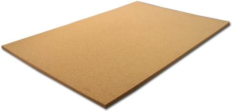 Amazon Com Cork Sheet 24 Wide X 36 Long X 1 Thick Home Kitchen