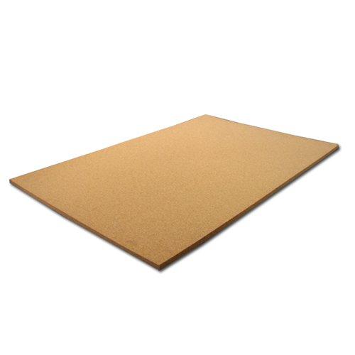 Cork Sheet Plain 24'' X 36'' X 1/2'' by Cleverbrand Inc.