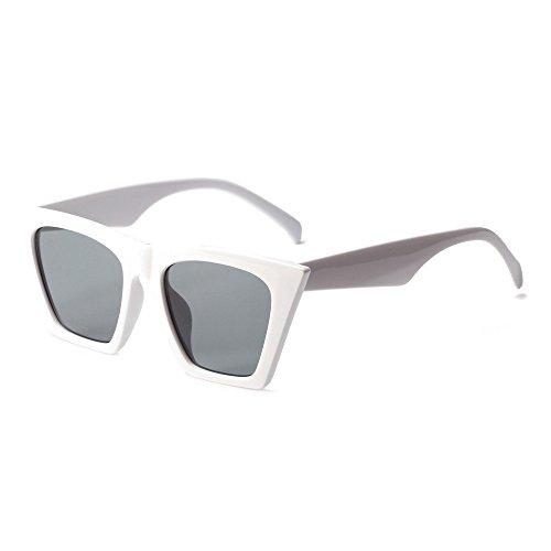 Rojo Gafas Para Mujeres Sol De white Uv400 De Ojo De Gato Gafas Mujer TIANLIANG04 De Hombres 6wSAqBpw