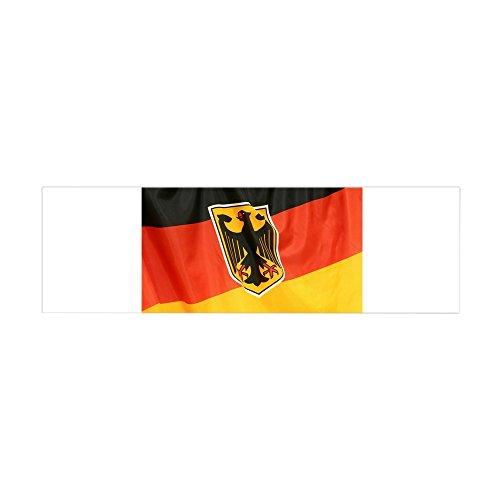 36 x 11 Wall Vinyl Sticker German Flag Waving ()
