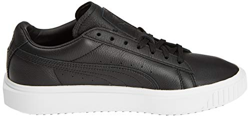 White Basses 01 Black Leather Noir Mixte Adulte Puma Breaker Sneakers puma Puma phlox aUwqWvt
