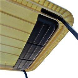 Rhox Golf Cart 88 Roof Top Assembly Shelf Storage Compartment Golf