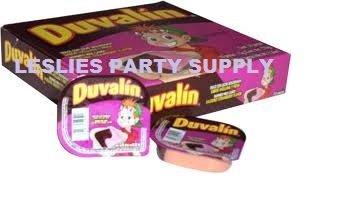 Duvalin Candy (Duvalin Bi Sabor Strwberry and Hazelnut 18 Pieces)