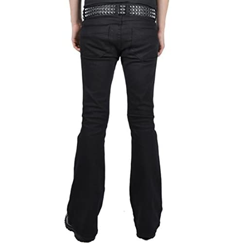 c4df348f81 Trash and Vaudeville By Tripp NYC Mens Flare Jean 80%OFF ...
