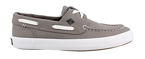 Sperry Top-Sider Mens Wahoo 2-Eye Saturated Fashion Sneaker Grey