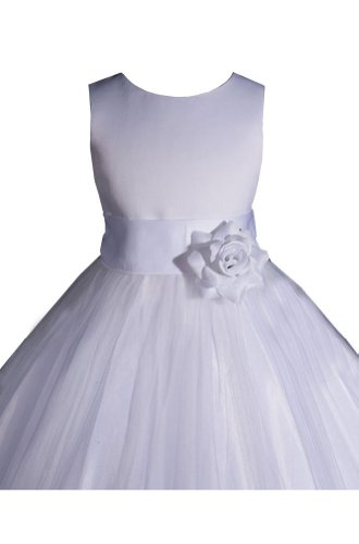 AMJ Dresses Inc Girls Petals Flower Pageant Dress
