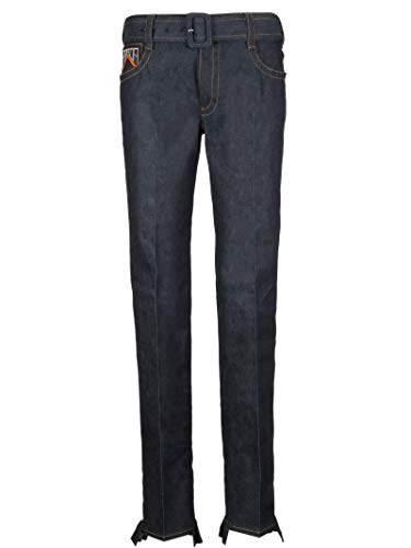 (Prada Women's Gfp4121ljff0008 Black Cotton Jeans)