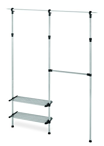 - Whitmor 2 Shelf 2 Rod Closet System - Adjustable Closet Maximizer