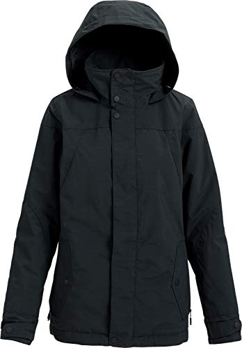(Burton Women's Jet Set Jacket, True Black Heather, Large)