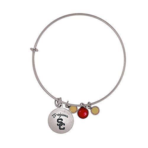 (University of Southern California-Frankie Tyler Charmed Bracelet)