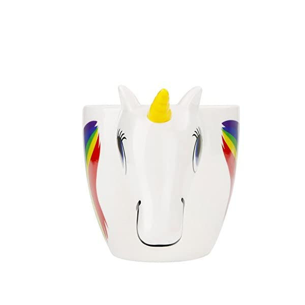 Magical Heat Sensitive Color Changing Rainbow Unicorn Magic Coffee Mug Cup Gift(3D) 6