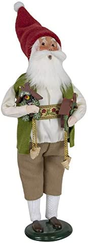 Byers Choice Cuckoo Clock Santa Caroler Figurine from The Santa Collection 3196