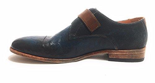 Ville À Homme Blu Lorenzi Bleu Lacets Pour De Burrattato Chaussures Eqqnx71