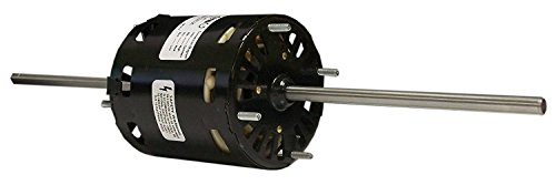Double Shaft Blower Motor Window (Fasco D367 3.3-Inch Window Air Conditioner Motor, 1/12 HP, 115 Volts, 1550 RPM, 3 Speed, 3.2 Amps, OAO Enclosure, Double Shaft, Sleeve Bearing)