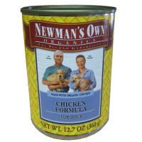 Newmans Own organic anic Dog Can Chicken Organic 3, 5.5 oz