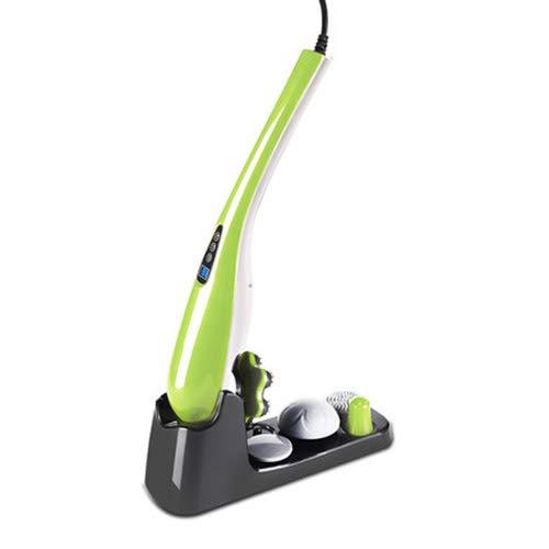 バック、ショルダー、ネックの痛みを軽減するためのポータブルハンドヘルドマッサージャーワイヤレスコードレスバイブレーションディープティッシュボディマッサージャー,wirelessversionblack B07KN2H4NX Wiredversiongreen  Wiredversiongreen