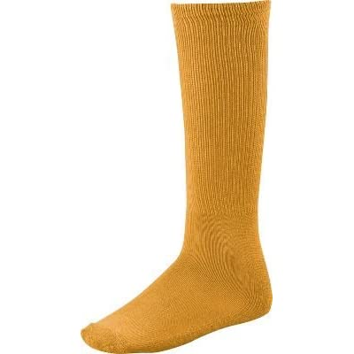 Twin City Acrylic Baseball Tube Sock, Gold, Small
