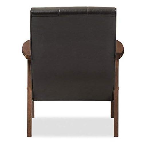 Farmhouse Accent Chairs Baxton Studio BBT8011A2-Black Living-Room-Chairs, Medium, Black farmhouse accent chairs